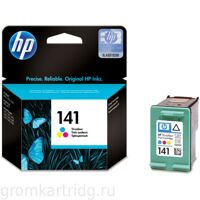 Картридж HP Officejet J5783, №141 CB337HE, (сolor)