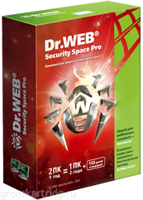 Dr.WEB Security Space 2ПК/1год